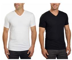 Calvin Klein Men's Cotton Stretch Classic Fit V-Neck Short S