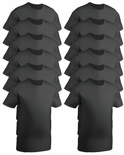 Gildan Men's Double Needle Short Sleeve 100% Cotton Soft T-S