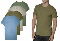 Fruit of the Loom Men's Earth Tones Pocket Crew Neck T-Shirt