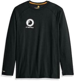 Carhartt Men's Force Cotton Delmont Long Sleeve Graphic T Sh
