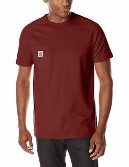 Carhartt Men's Force Cotton Delmont Short Sleeve T-Shirt 100