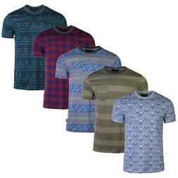 Men's Graphic Short Sleeve Comfortable Vacation Pocket T-shi
