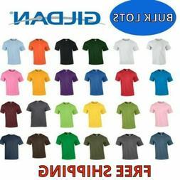 Gildan Men's Heavy Cotton T-Shirt  Bulk Lot Solid Blank 5000