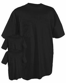 Jerzees Men's Heavyweight Pocket Preshrunk Jersey T-Shirt, P