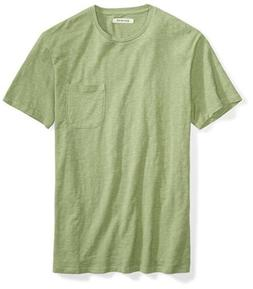 Goodthreads Men's Lightweight Slub Crewneck Pocket T-Shirt,