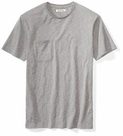 Goodthreads Men's Lightweight Slub Crewneck Pocket T-Shirt G