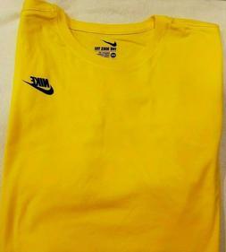 Men's Nike  Long Sleeve 100% Cotton T-Shirt  Tee Top Size  2