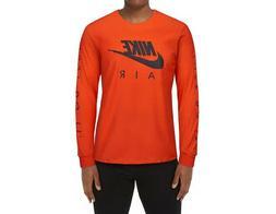 Men's Nike   Long Sleeve 100% Cotton T-Shirt  Tee Top Size X