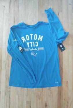 Men's long sleeve Nike Dri-FIT Motor City football t-shirt X