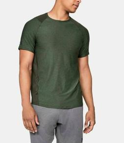 Under Armour Men's Mk-1 HeatGear Training T-Shirt Green Sele