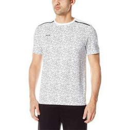 Calvin Klein Men's NEW All Over Print Blocked Stretch Tee Gy