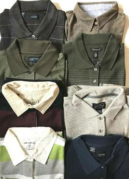 Men's New Long Sleeve Knit T-Shirts - CHOICE Size & Color