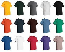 CHAMPION MEN'S NEW SHORT SLEEVE 100% COTTON TAGLESS T-SHIRT