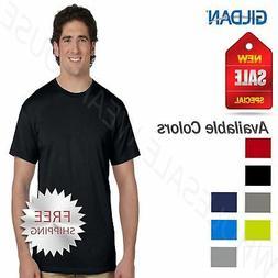 Gildan Mens T-Shirt 100%  Cotton TALL TEE  Short Sleeve  XLT