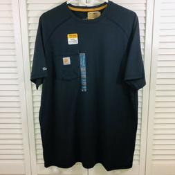 Carhartt Men's Nwt Relaxed Fit Force Delmont Short Sleeve Cr