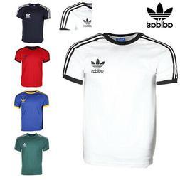 Adidas Men's Original Short Sleeve 3 Stripe Essential Califo