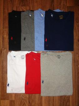 POLO RALPH LAUREN MEN'S POCKET CREW NECK T-SHIRTS NEW WITH T