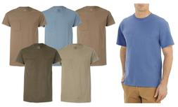 Fruit of The Loom Men's Pocket T-Shirts 5-Pack Assorted Colo
