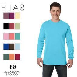 Comfort Colors Men's Ringspun Garment-Dyed Long-Sleeve T-Shi