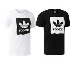 Adidas Men's Active Wear Blackbird Trefoil Graphic Logo Gym