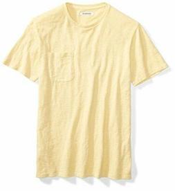 Goodthreads Men's Short-Sleeve Crewneck Slub Pocket T-Shirt,