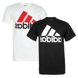 Adidas Men's Active Wear Short Sleeve Essential Logo Graphic