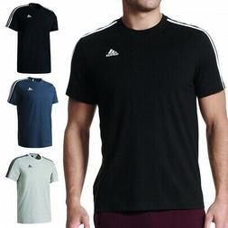 Adidas Men's Short Sleeve Linear 3 Stripe Essential T-Shirt