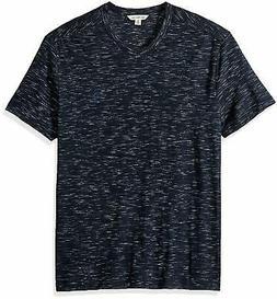 Calvin Klein Men's Short Sleeve T-Shirt Allover Contrast - C