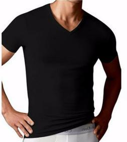 Calvin Klein Men's T Shirt V Neck Black Small CK Undershirt