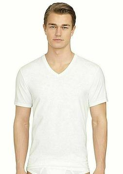 Calvin Klein Men's T Shirts 3 Pack 100% Cotton V-Neck Tees U