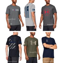 Under Armour Men's UA Freedom T-Shirts Multiple Designs S-3X