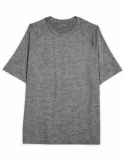 Amazon Essentials Men's Tech Stretch Short-Sleeve T-Shirt, D