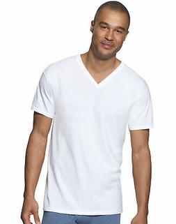 Hanes Men's V-Neck 3-Pack Undershirt Short Sleeve T-Shirt Ul