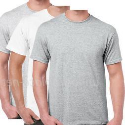 Men T shirt Basic Crew Neck Cotton Tee Plain color T-shirts