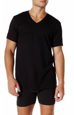 Calvin Klein Men' V-Neck T-Shirt Short Sleeve Liquid Touch,