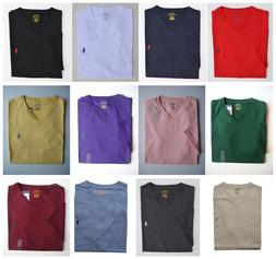 Men Polo Ralph Lauren V NECK T Shirt Size S M L XL XXL - STA