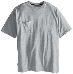 Champion Mens Big and Tall Jersey Crewneck Pocket T-Shirt Wi