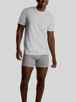 Hanes Mens ComfortSoft White Crew Neck T-Shirt SUPER VALUE 1