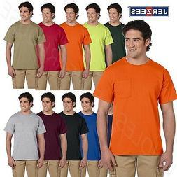JERZEES Mens Heavyweight Blend 50/50 Dri-Power T Shirt with