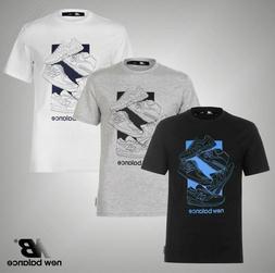 Mens New Balance Lightweight 5 Shoe QTT T Shirt Top Sizes S