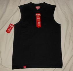 RED KAP Mens M NWT Black Sleeveless Workwear Muscle Tee T Sh