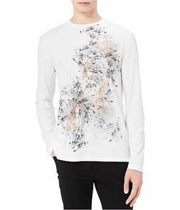 Calvin Klein Mens Printed Graphic T-Shirt