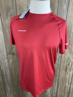 Baleaf Mens Red Athletic T Shirt Size Large