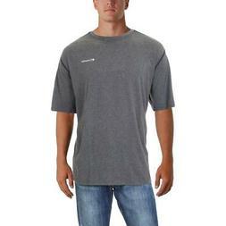Columbia Mens Silver Ridge Gray Athletic T-Shirt Top Big & T