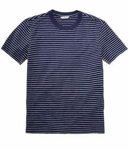 Calvin Klein Mens Stripe Basic T-Shirt