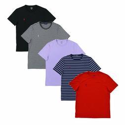 Polo Ralph Lauren Mens T-Shirt Custom Slim Fit Short Sleeve