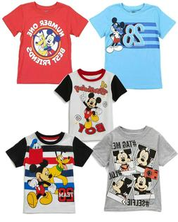 Shirt t Toddler Boys Disney Mickey Mouse Short Sleeve charac