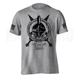 Molon Labe Spartan Men's American Flag Military Soft Lightwe