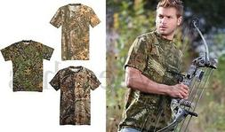 Russell Outdoors Mossy Oak Realtree Mens S-3XL 100% Cotton P