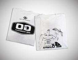 Mr. Olympia Jay Cutler Workout Training T-Shirts XL
